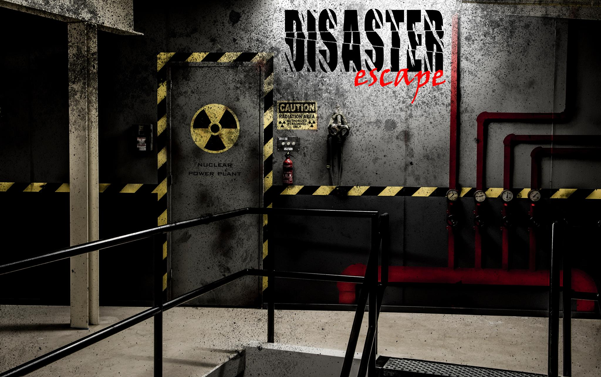 nuclear power plant escape room